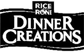 RICE A RONI DINNER CREATIONS