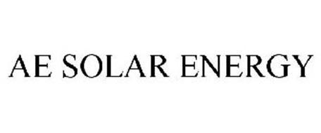 AE SOLAR ENERGY