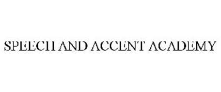 SPEECH AND ACCENT ACADEMY