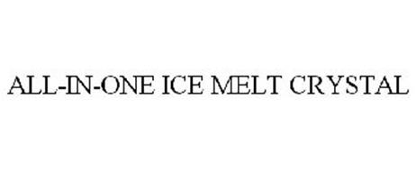 ALL-IN-ONE ICE MELT CRYSTAL