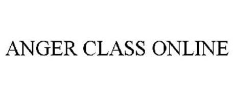 ANGER CLASS ONLINE