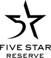 5 FIVE STAR RESERVE