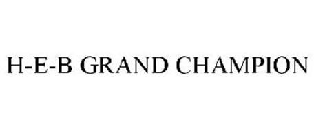H-E-B GRAND CHAMPION
