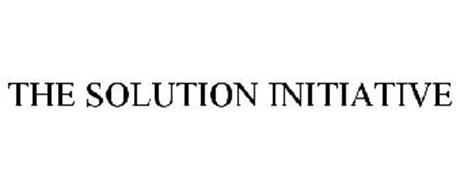 THE SOLUTION INITIATIVE