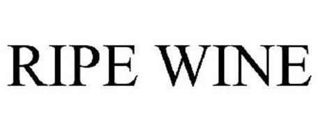 RIPE WINE