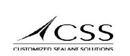CSS CUSTOMIZED SEALANT SOLUTIONS