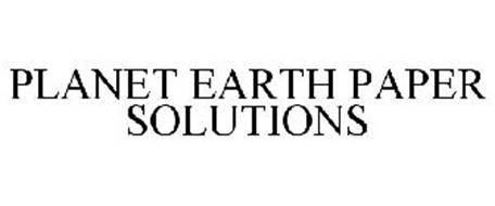PLANET EARTH PAPER SOLUTIONS