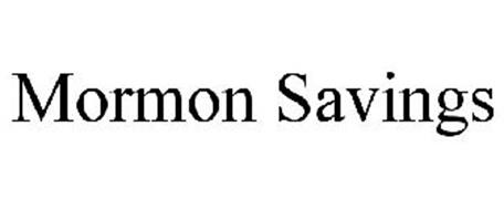 MORMON SAVINGS