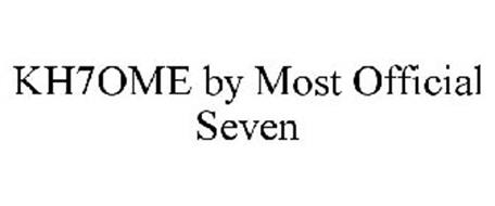 KH7OME BY MOST OFFICIAL SEVEN