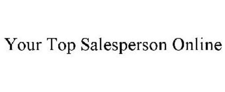 YOUR TOP SALESPERSON ONLINE