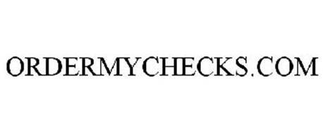 ORDERMYCHECKS.COM