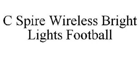 C SPIRE WIRELESS BRIGHT LIGHTS FOOTBALL