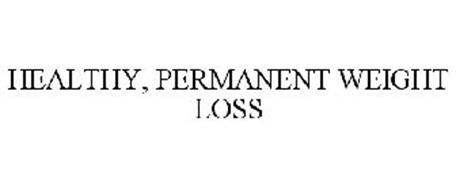 HEALTHY, PERMANENT WEIGHT LOSS