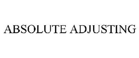ABSOLUTE ADJUSTING