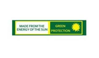 MADE FROM THE ENERGY OF THE SUN GREEN PROTECTION