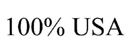 100% USA