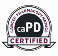 CANCER PHARMACODYNAMICS CAPD CERTIFIED