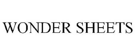WONDER SHEETS