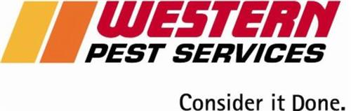WESTERN PEST SERVICES CONSIDER IT DONE.
