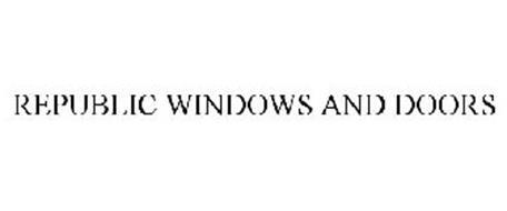 REPUBLIC WINDOWS AND DOORS