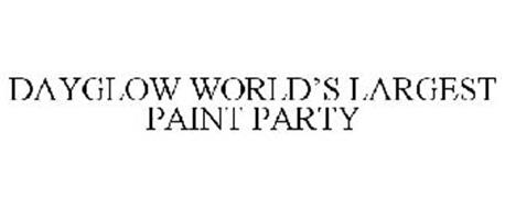 DAYGLOW WORLD'S LARGEST PAINT PARTY