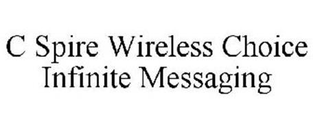 C SPIRE WIRELESS CHOICE INFINITE MESSAGING