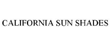 CALIFORNIA SUN SHADES