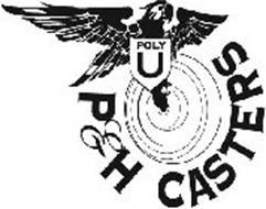 POLY U P&H CASTERS