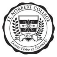 ST. NORBERT COLLEGE 1898 DOCERE VERBO ET EXEMPLO