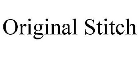 ORIGINAL STITCH