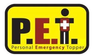 P.E.T. PERSONAL EMERGENCY TOPPER