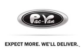 PAC-VAN EXPECT MORE. WE'LL DELIVER.