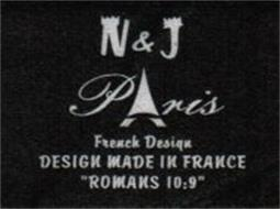 N & J PARIS FRENCH DESIGN DESIGN MADE IN FRANCE