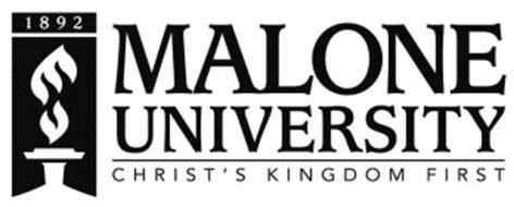 1892 MALONE UNIVERSITY CHRIST'S KINGDOM FIRST
