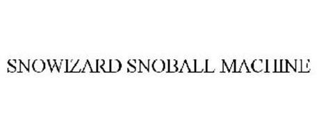 SNOWIZARD SNOBALL MACHINE