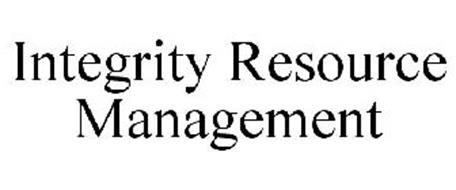INTEGRITY RESOURCE MANAGEMENT