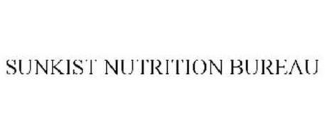 SUNKIST NUTRITION BUREAU