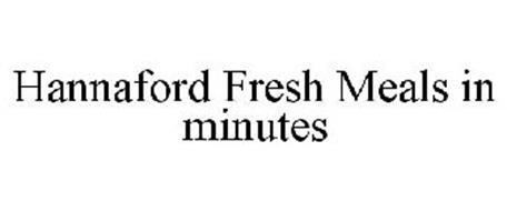 HANNAFORD FRESH MEALS IN MINUTES
