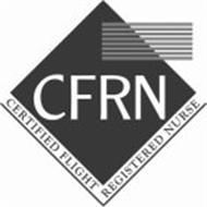 CFRN CERTIFIED FLIGHT REGISTERED NURSE