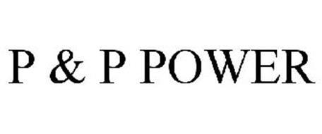 P & P POWER