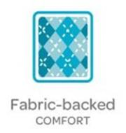 FABRIC-BACKED COMFORT