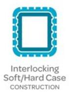 INTERLOCKING HARD/SOFT CASE CONSTRUCTION