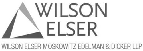 WILSON ELSER WILSON ELSER MOSKOWITZ EDELMAN & DICKER LLP