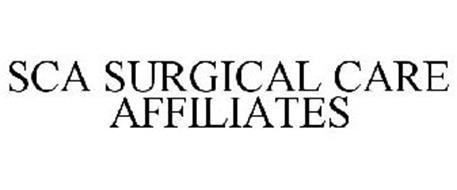 SCA SURGICAL CARE AFFILIATES