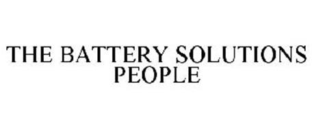 THE BATTERY SOLUTIONS PEOPLE