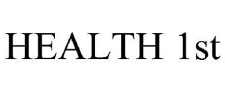 HEALTH 1ST