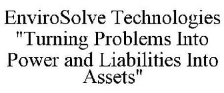 ENVIROSOLVE TECHNOLOGIES