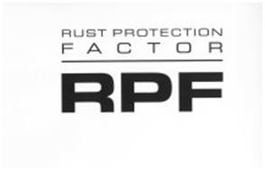 RUST PROTECTION FACTOR RPF