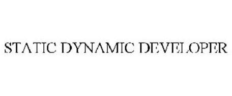 STATIC DYNAMIC DEVELOPER