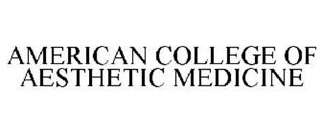 AMERICAN COLLEGE OF AESTHETIC MEDICINE